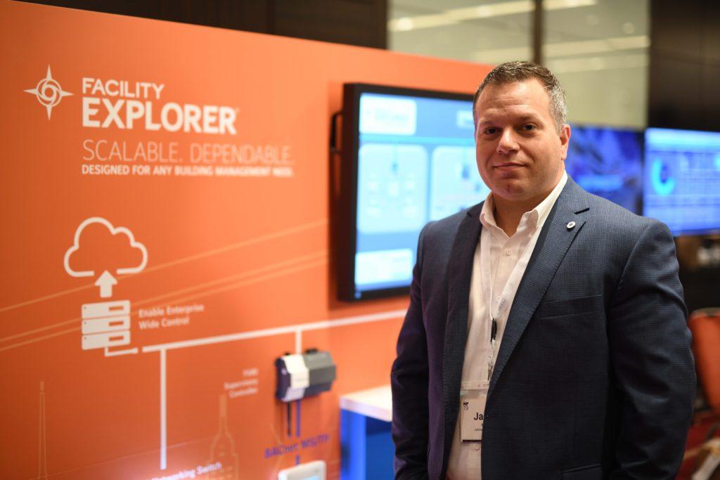 Jason Sawyer, produktový manažer – BAS ve společnosti Johnson Controls